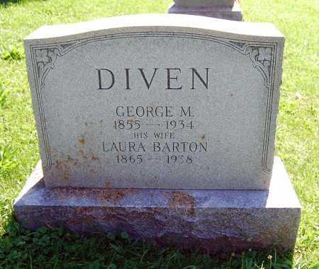 BARTON DIVEN, LAURA N. - Juniata County, Pennsylvania | LAURA N. BARTON DIVEN - Pennsylvania Gravestone Photos
