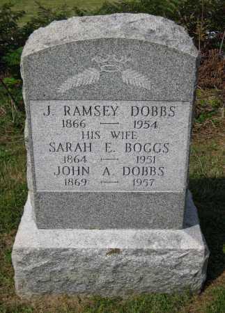 BOGGS DOBBS, SARAH E. - Juniata County, Pennsylvania | SARAH E. BOGGS DOBBS - Pennsylvania Gravestone Photos