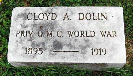 DOLIN, CLOYD A. - Juniata County, Pennsylvania | CLOYD A. DOLIN - Pennsylvania Gravestone Photos