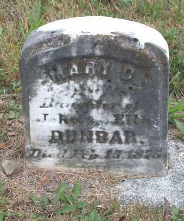 DUNBAR, MARY D. - Juniata County, Pennsylvania   MARY D. DUNBAR - Pennsylvania Gravestone Photos