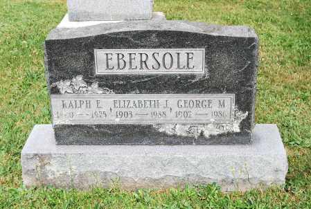 ARD EBERSOLE, ELIZABETH J. - Juniata County, Pennsylvania | ELIZABETH J. ARD EBERSOLE - Pennsylvania Gravestone Photos