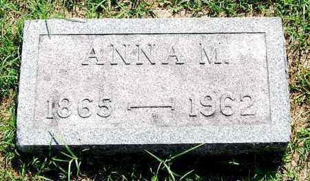 EBRIGHT, ANNA M. - Juniata County, Pennsylvania | ANNA M. EBRIGHT - Pennsylvania Gravestone Photos