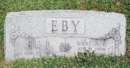 SWARTZ EBY, WANETTA L. - Juniata County, Pennsylvania | WANETTA L. SWARTZ EBY - Pennsylvania Gravestone Photos