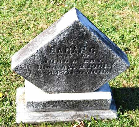 CROSIER EBY, SARAH - Juniata County, Pennsylvania | SARAH CROSIER EBY - Pennsylvania Gravestone Photos