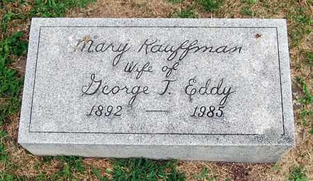 KAUFFMAN EDDY, MARY - Juniata County, Pennsylvania   MARY KAUFFMAN EDDY - Pennsylvania Gravestone Photos