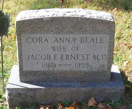 BEALE ERNEST, CORA ANNA - Juniata County, Pennsylvania | CORA ANNA BEALE ERNEST - Pennsylvania Gravestone Photos