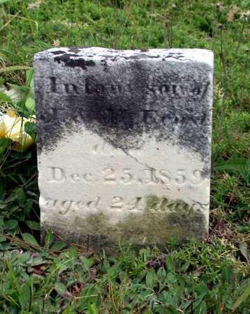 ERNST, (INFANT SON) - Juniata County, Pennsylvania | (INFANT SON) ERNST - Pennsylvania Gravestone Photos