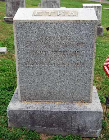 ETKA, RACHEL - Juniata County, Pennsylvania | RACHEL ETKA - Pennsylvania Gravestone Photos