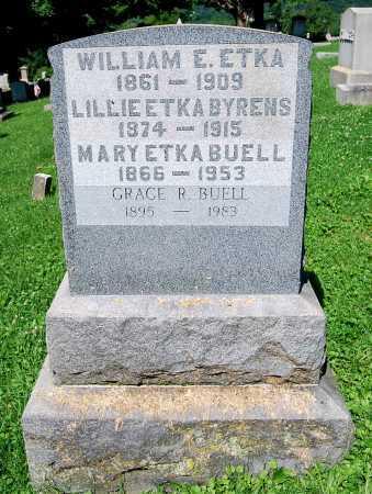 ETKA, WILLIAM E. - Juniata County, Pennsylvania | WILLIAM E. ETKA - Pennsylvania Gravestone Photos