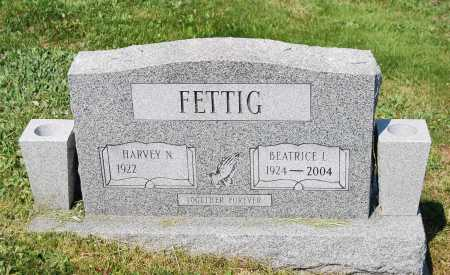 FETTIG, HARVEY N. - Juniata County, Pennsylvania | HARVEY N. FETTIG - Pennsylvania Gravestone Photos
