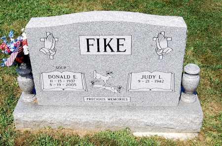 FIKE, DONALD E. - Juniata County, Pennsylvania | DONALD E. FIKE - Pennsylvania Gravestone Photos