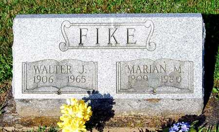 FIKE, MARIAN MELVINA - Juniata County, Pennsylvania | MARIAN MELVINA FIKE - Pennsylvania Gravestone Photos