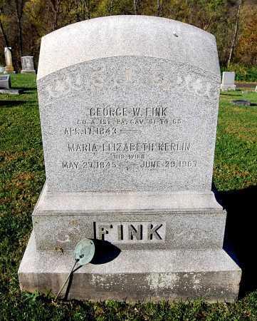 KERLIN FINK, MARIA ELIZABETH - Juniata County, Pennsylvania | MARIA ELIZABETH KERLIN FINK - Pennsylvania Gravestone Photos