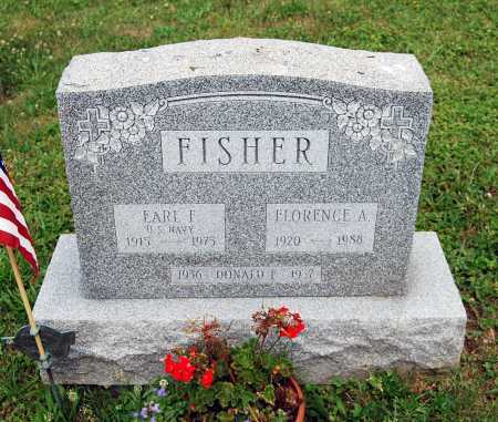 FISHER, FLORENCE A. - Juniata County, Pennsylvania | FLORENCE A. FISHER - Pennsylvania Gravestone Photos