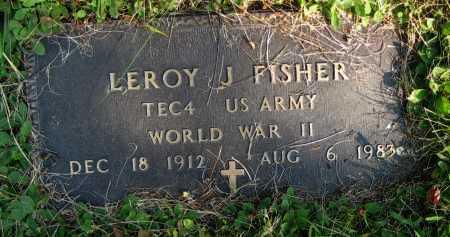 FISHER, LEROY J. - Juniata County, Pennsylvania   LEROY J. FISHER - Pennsylvania Gravestone Photos