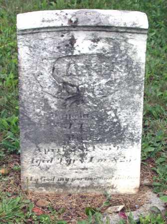 FLICKINGER, MARY EMILINE - Juniata County, Pennsylvania   MARY EMILINE FLICKINGER - Pennsylvania Gravestone Photos