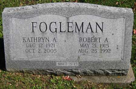 ARNOLD FOGLEMAN, KATHRYN - Juniata County, Pennsylvania | KATHRYN ARNOLD FOGLEMAN - Pennsylvania Gravestone Photos