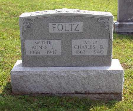 FOLTZ, CHARLES D. - Juniata County, Pennsylvania | CHARLES D. FOLTZ - Pennsylvania Gravestone Photos