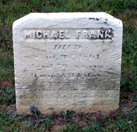 FRANK, MICHAEL - Juniata County, Pennsylvania | MICHAEL FRANK - Pennsylvania Gravestone Photos