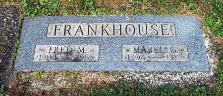 FRANKHOUSE, FRED MELOY - Juniata County, Pennsylvania | FRED MELOY FRANKHOUSE - Pennsylvania Gravestone Photos