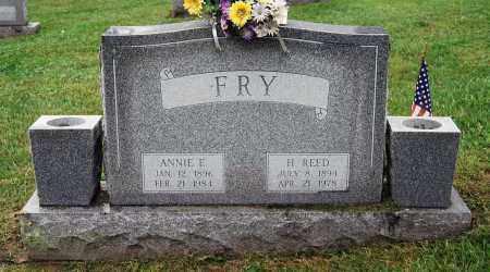 FRY, H. REED - Juniata County, Pennsylvania | H. REED FRY - Pennsylvania Gravestone Photos