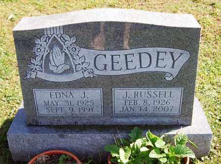 GEEDEY, EDNA J. - Juniata County, Pennsylvania | EDNA J. GEEDEY - Pennsylvania Gravestone Photos