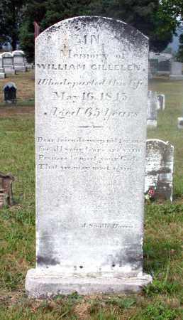 GILLELEN, WILLIAM - Juniata County, Pennsylvania | WILLIAM GILLELEN - Pennsylvania Gravestone Photos