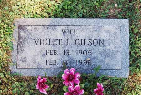 "LEONARD GILSON, VIOLET ""VIOLA"" - Juniata County, Pennsylvania | VIOLET ""VIOLA"" LEONARD GILSON - Pennsylvania Gravestone Photos"