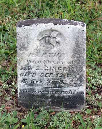 GINGRICH, MARTHA A. - Juniata County, Pennsylvania | MARTHA A. GINGRICH - Pennsylvania Gravestone Photos