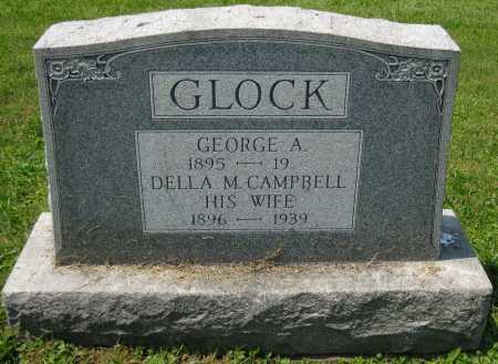 CAMPBELL GLOCK, DELLA M. - Juniata County, Pennsylvania | DELLA M. CAMPBELL GLOCK - Pennsylvania Gravestone Photos