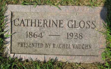 GLOSS, CATHERINE - Juniata County, Pennsylvania | CATHERINE GLOSS - Pennsylvania Gravestone Photos