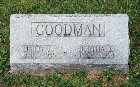 REEDER GOODMAN, BERTHA L. - Juniata County, Pennsylvania   BERTHA L. REEDER GOODMAN - Pennsylvania Gravestone Photos