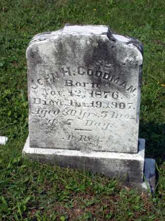 GOODMAN, JOHN H. - Juniata County, Pennsylvania   JOHN H. GOODMAN - Pennsylvania Gravestone Photos