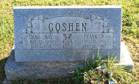 GOSHEN, EMMA MAY - Juniata County, Pennsylvania | EMMA MAY GOSHEN - Pennsylvania Gravestone Photos