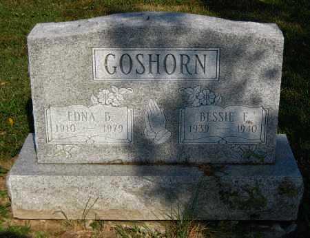 GOSHORN, BESSIE F. - Juniata County, Pennsylvania | BESSIE F. GOSHORN - Pennsylvania Gravestone Photos