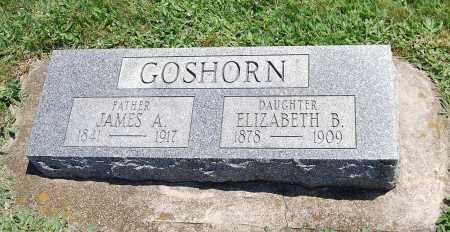 GOSHORN, ELIZABETH B. - Juniata County, Pennsylvania | ELIZABETH B. GOSHORN - Pennsylvania Gravestone Photos