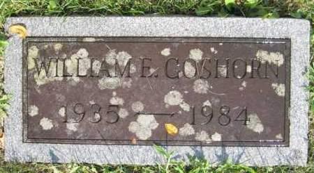 GOSHORN, WILLIAM E. - Juniata County, Pennsylvania | WILLIAM E. GOSHORN - Pennsylvania Gravestone Photos