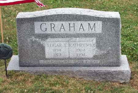 GRAHAM, EDGAR THOMPSON - Juniata County, Pennsylvania | EDGAR THOMPSON GRAHAM - Pennsylvania Gravestone Photos