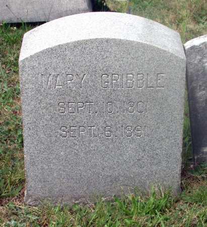 GRIBBLE, MARY - Juniata County, Pennsylvania   MARY GRIBBLE - Pennsylvania Gravestone Photos