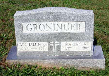 VAN ORMER GRONINGER, MARIAN - Juniata County, Pennsylvania | MARIAN VAN ORMER GRONINGER - Pennsylvania Gravestone Photos