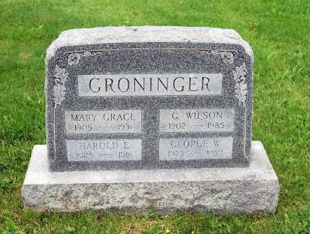 GRONINGER, MARY GRACE - Juniata County, Pennsylvania | MARY GRACE GRONINGER - Pennsylvania Gravestone Photos