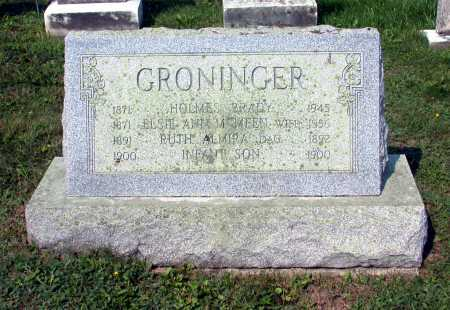 GRONINGER, ELSIE ANN - Juniata County, Pennsylvania | ELSIE ANN GRONINGER - Pennsylvania Gravestone Photos