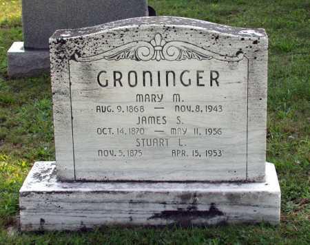GRONINGER, STUART L. - Juniata County, Pennsylvania   STUART L. GRONINGER - Pennsylvania Gravestone Photos
