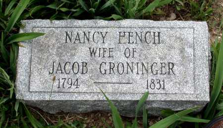 HENCH GRONINGER, NANCY - Juniata County, Pennsylvania | NANCY HENCH GRONINGER - Pennsylvania Gravestone Photos