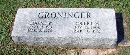 LEEPER GRONINGER, LOUISE W. - Juniata County, Pennsylvania | LOUISE W. LEEPER GRONINGER - Pennsylvania Gravestone Photos