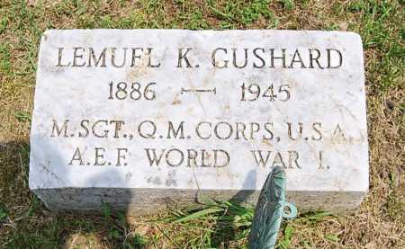 GUSHARD, LEMUEL K. - Juniata County, Pennsylvania | LEMUEL K. GUSHARD - Pennsylvania Gravestone Photos
