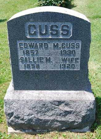 GUSS, EDWARD M. - Juniata County, Pennsylvania | EDWARD M. GUSS - Pennsylvania Gravestone Photos