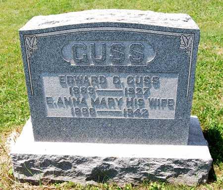 WOODWARD GUSS, E. ANNA MARY - Juniata County, Pennsylvania | E. ANNA MARY WOODWARD GUSS - Pennsylvania Gravestone Photos