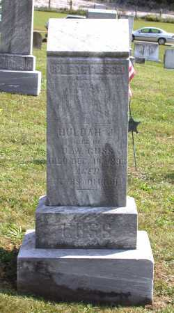 SWITZER GUSS, HULDA JANE - Juniata County, Pennsylvania | HULDA JANE SWITZER GUSS - Pennsylvania Gravestone Photos