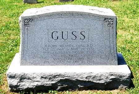 GUSS, JEROME MICHAEL - Juniata County, Pennsylvania | JEROME MICHAEL GUSS - Pennsylvania Gravestone Photos